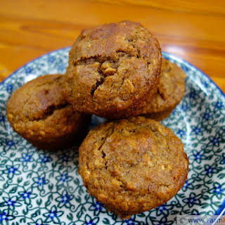 Molasses Date Oatmeal Muffins.