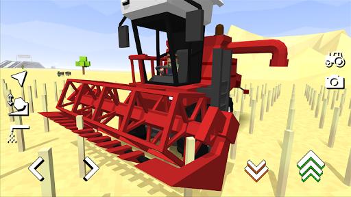 Blocky Farm Racing & Simulator - free driving game Apk 1