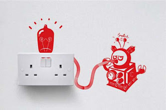 Photo: Robot Awesome Funny and Home Design Ideas Wall Stickers Cute