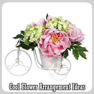 Cool nápady uspořádání květin - náhled