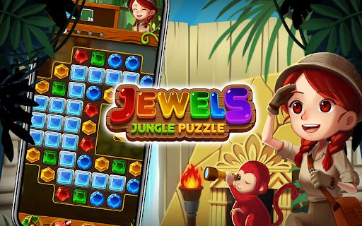Jewels Crush 2021 : Match 3 Jungle Puzzle cheat hacks