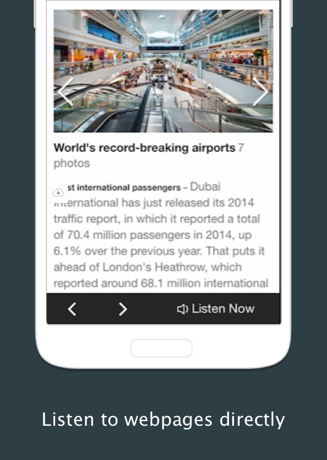 Text to Speech - NaturalReader- screenshot