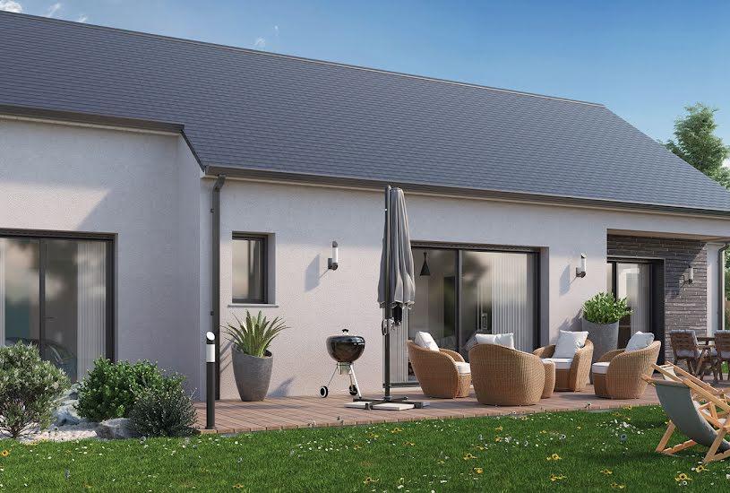 Vente Terrain + Maison - Terrain : 699m² - Maison : 110m² à Coulaines (72190)