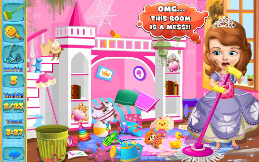 Princess Sofia Cleaning Home 1.0 screenshots 10