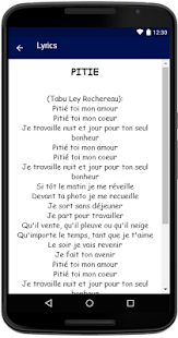 Tabu Ley Rochereau Songs Lyrics - náhled