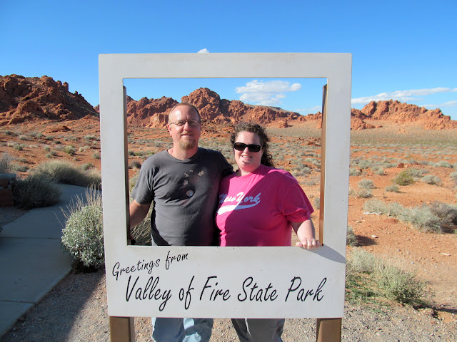 Me and Traci at Valley of Fire