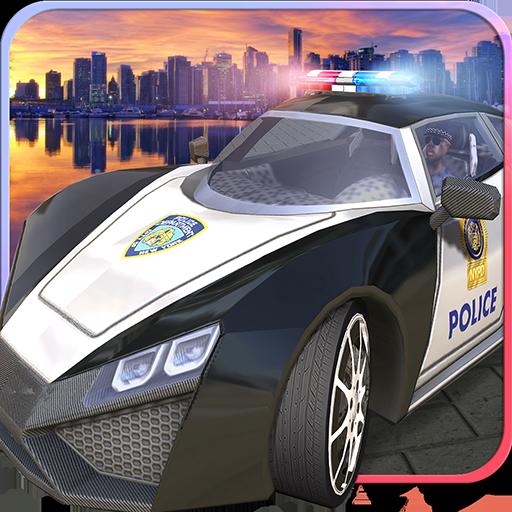 Police Car Vs Gangster Squad