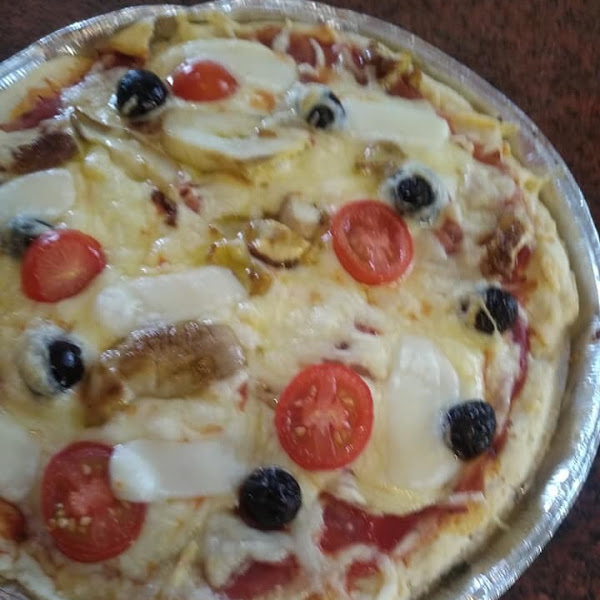 Glutenfree - diary free - egg free pizza