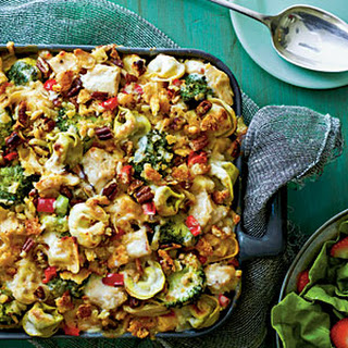 Pasta-Chicken-Broccoli Bake