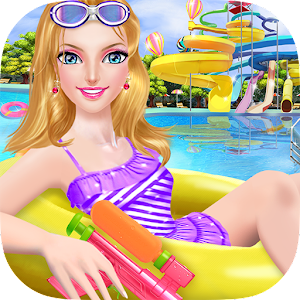 Water Park Salon Girl Makeover for PC and MAC