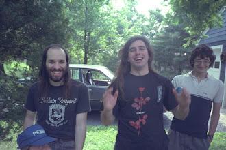 Photo: Eric Luce, Sandro Wallach, and Keith Rosenblatt