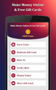 Make Money Online & Free Gift Cards - náhled