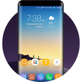 Galaxy Note 8 theme for Huawei
