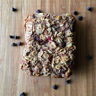 Raspberry Chocolate Chip Oatmeal Squares
