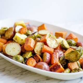 Roasted Potatoes Carrots And Brussel Sprouts Recipes.