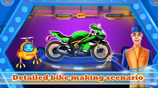 Sports Motorcycle Factory: Motorbike Builder Games  screenshots 18