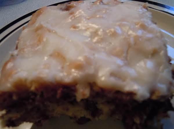 Chocolate Chip Oatmeal Snackin Cake Recipe