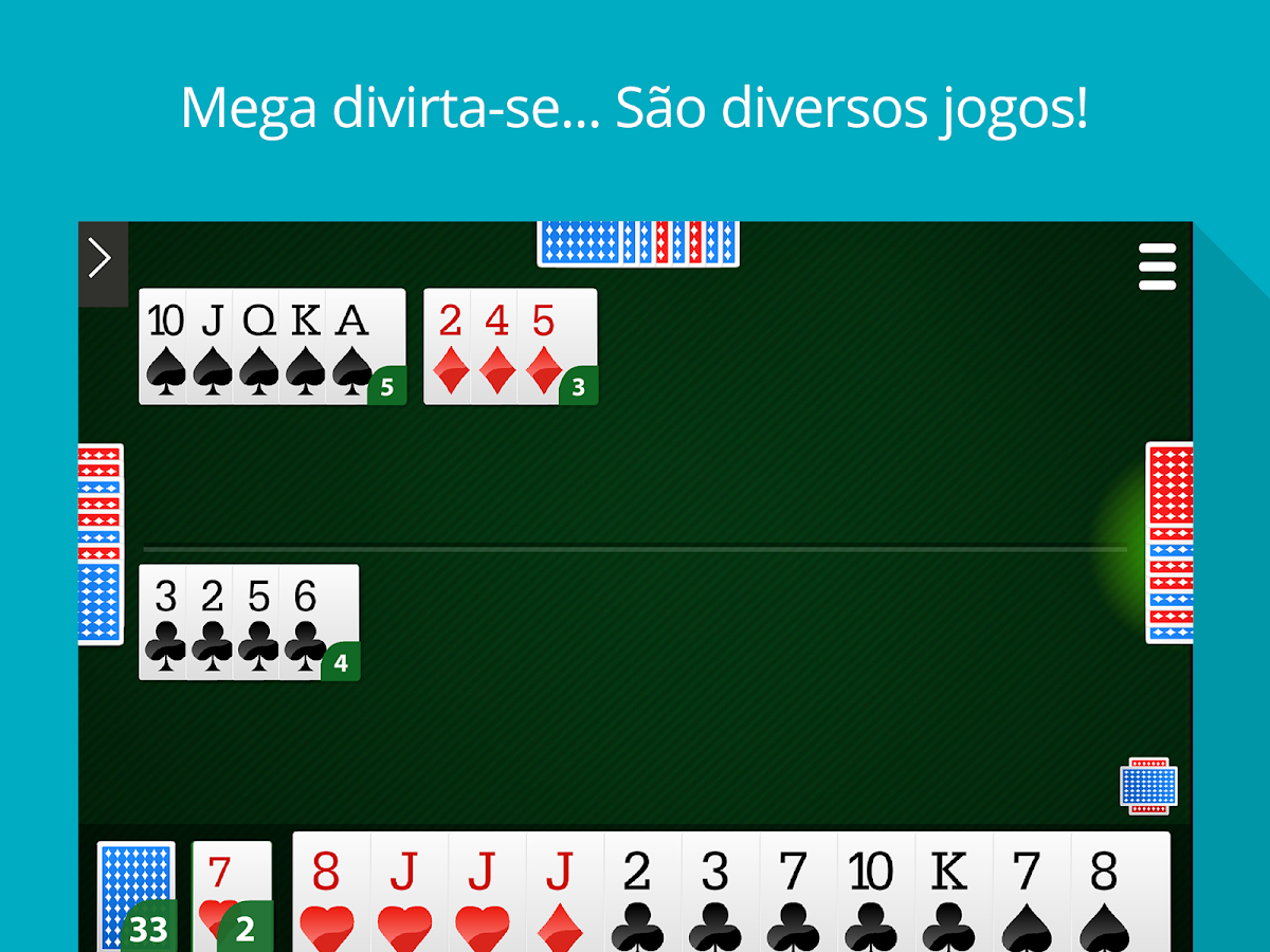 MegaJogos - Online Card Games and Board Games- screenshot