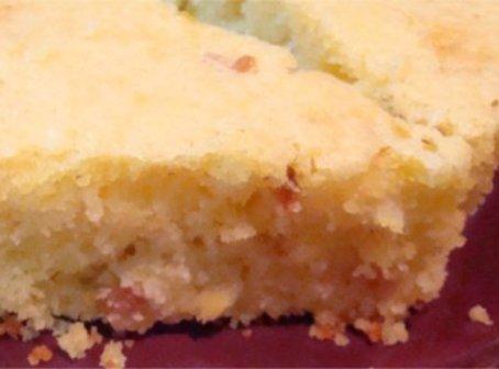 Creamed Corn  Bacon Cornbread Recipe
