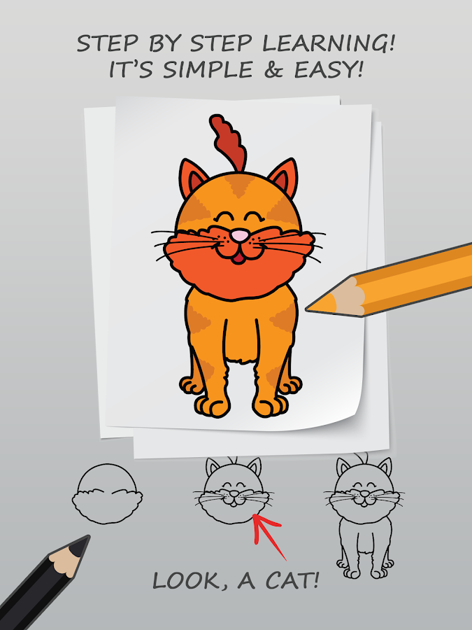 Drawissimo Kids-Learn to Draw- screenshot