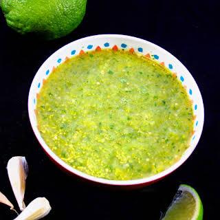 Authentic Salsa Verde.
