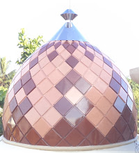 Photo: kubah anak enamel al-muttaqin kintap kalsel