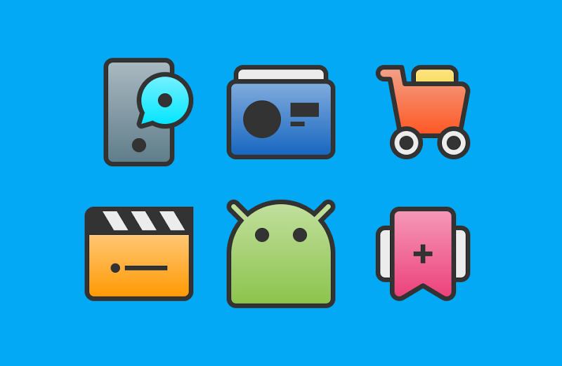 XIM - Icon Pack Screenshot