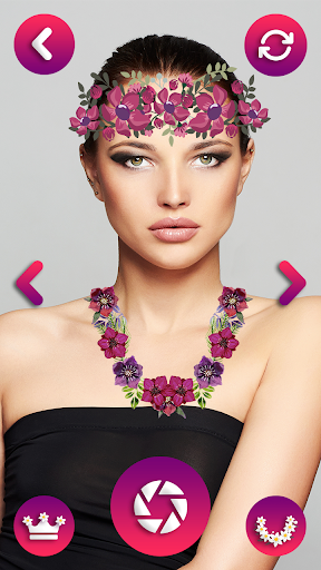 Flower Crown Photo Editor - Snappy Photo Filters  screenshots 3