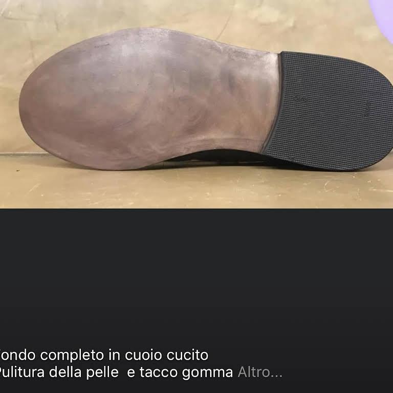 """CALZOLAIO Busto arsizio""""ANGOLO DELLA CALZATURA""""Lavori"""