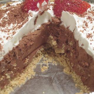 No Bake Chocolate Pie w/ COOL WHIP.