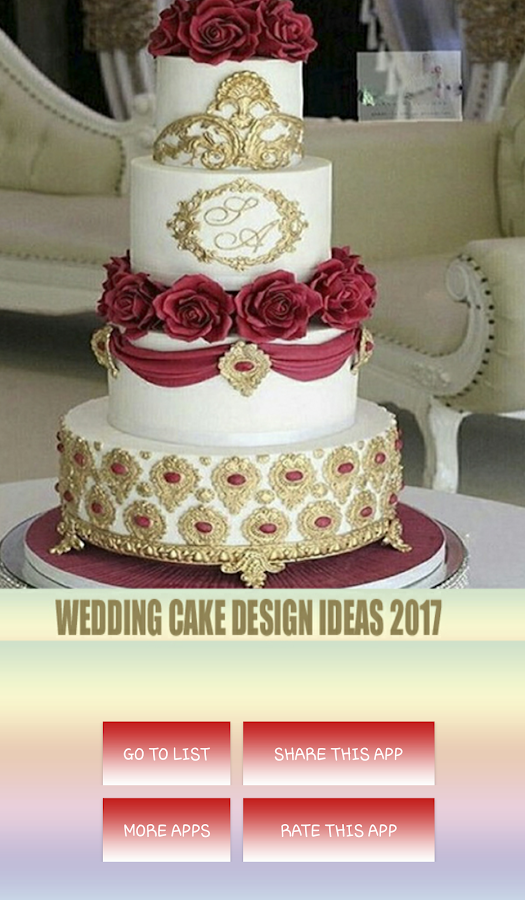 Cake Design In 2018 : Wedding Cake Design Ideas 2018 - Android Apps on Google Play