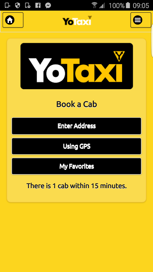 YoTaxi- screenshot