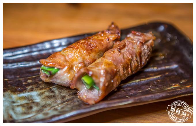 喝郎燒烤蔥豬肉捲