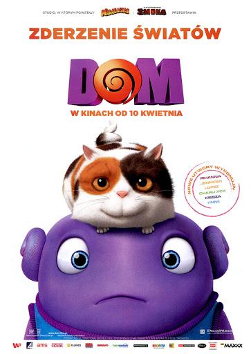 Przód ulotki filmu 'Dom'