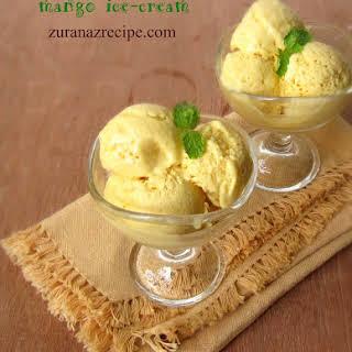 Mango Ice-Cream.