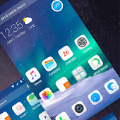 IPhone 7/7 Plus style theme- APUS Launcher