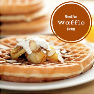 Almond Flour Waffle For One