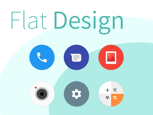 Screenshot for Pure - Icon Pack ( Flat Design ) in Hong Kong Play Store