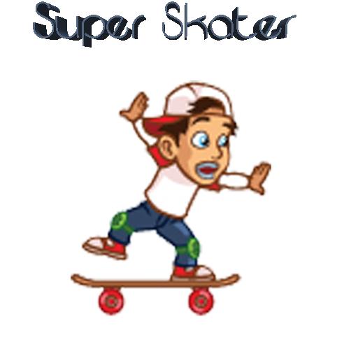 スケーターの少年