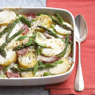 Potato-Ham Bake.