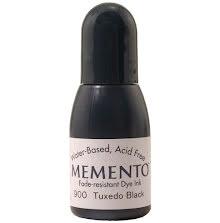 Memento Dye Ink Refill 15ml - Tuxedo Black