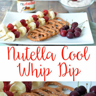Nutella Cool Whip Dip.