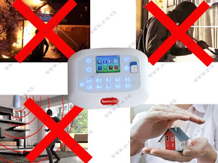 Thiết bị báo trộm qua điện thoại bảo đảm an toàn đến gia đình bạn
