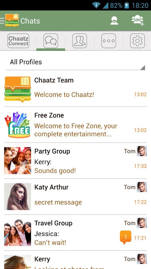 Chaatz- screenshot