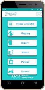 Biogas App - náhled