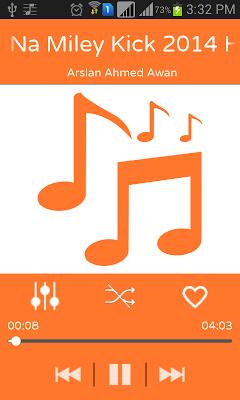 Free Music - MP3 Audio Player - screenshot