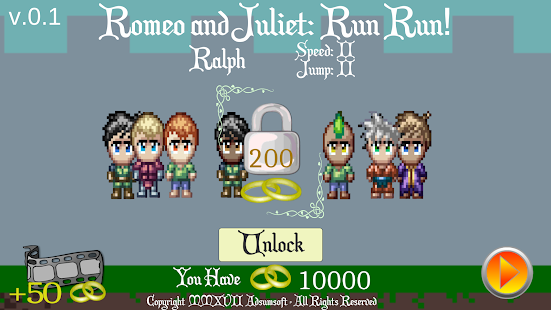 Romeo and Juliet: Run Run!- screenshot thumbnail