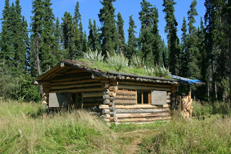 Photo: Yukon River. Kandik River Cabin