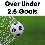 Over Under 2.5 Goals - Football Predictions Icon