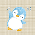Baby Blue A Penguin Sticker Pack by Pomelo Tree icon